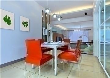 living room143 3d model 3ds max 84242