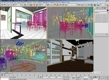 living room143 3d model 3ds max 84243