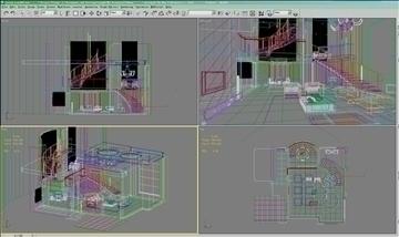 living room358 3d model 3ds max 94184