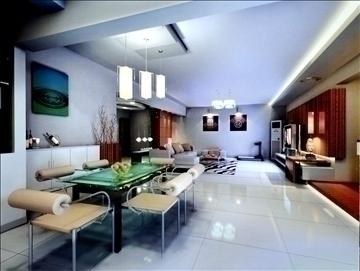 living room762 3d model 3ds max 95649