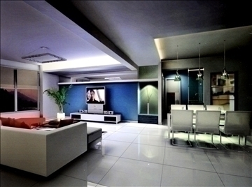 living room767 3d model 3ds max 95658