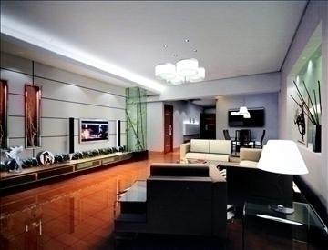 living room768 3d model 3ds max 95660