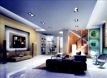 living room769 3d model 3ds max 95662