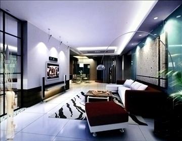 living room770 3d model 3ds max 95664