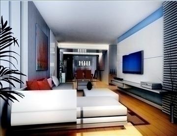 living room775 3d model 3ds max 95674