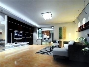 living room779 3d model 3ds max 95682