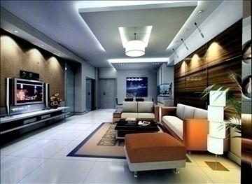 living room780 3d model 3ds max 95684