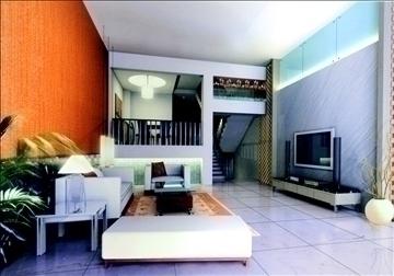 dzīvojamā istaba784 3d modelis 3ds max 95692