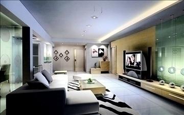 dzīvojamā istaba785 3d modelis 3ds max 95694
