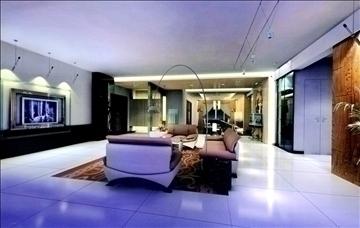 dzīvojamā istaba787 3d modelis 3ds max 95698