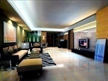 dzīvojamā istaba789 3d modelis 3ds max 95702