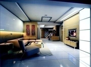 dzīvojamā istaba790 3d modelis 3ds max 95704