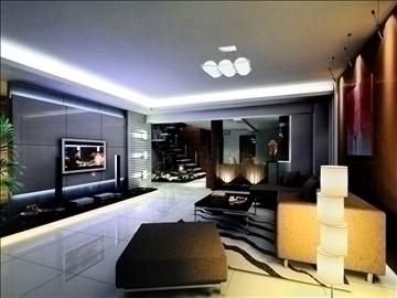 living room792 3d model 3ds max 95708
