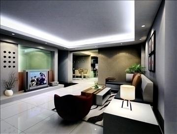 living room793 3d model 3ds max 95710