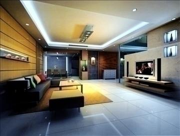 living room794 3d model 3ds max 95712