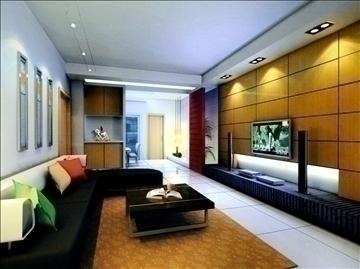 living room795 3d model 3ds max 95714