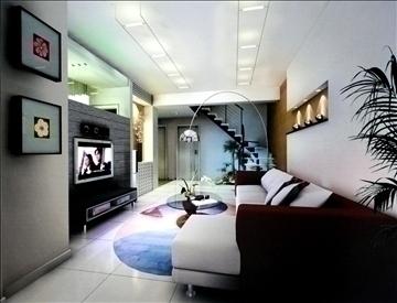 living room797 3d model 3ds max 95718