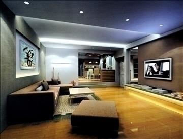 living room798 3d model 3ds max 95720