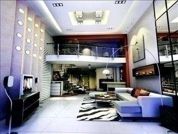 living room801 3d model 3ds max 95726