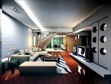 living room803 3d model 3ds max 95730