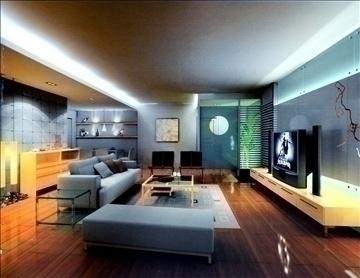 living room804 3d model 3ds max 95732