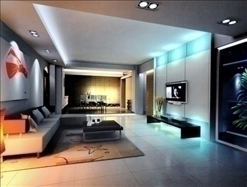 living room823 3d model 3ds max 95769