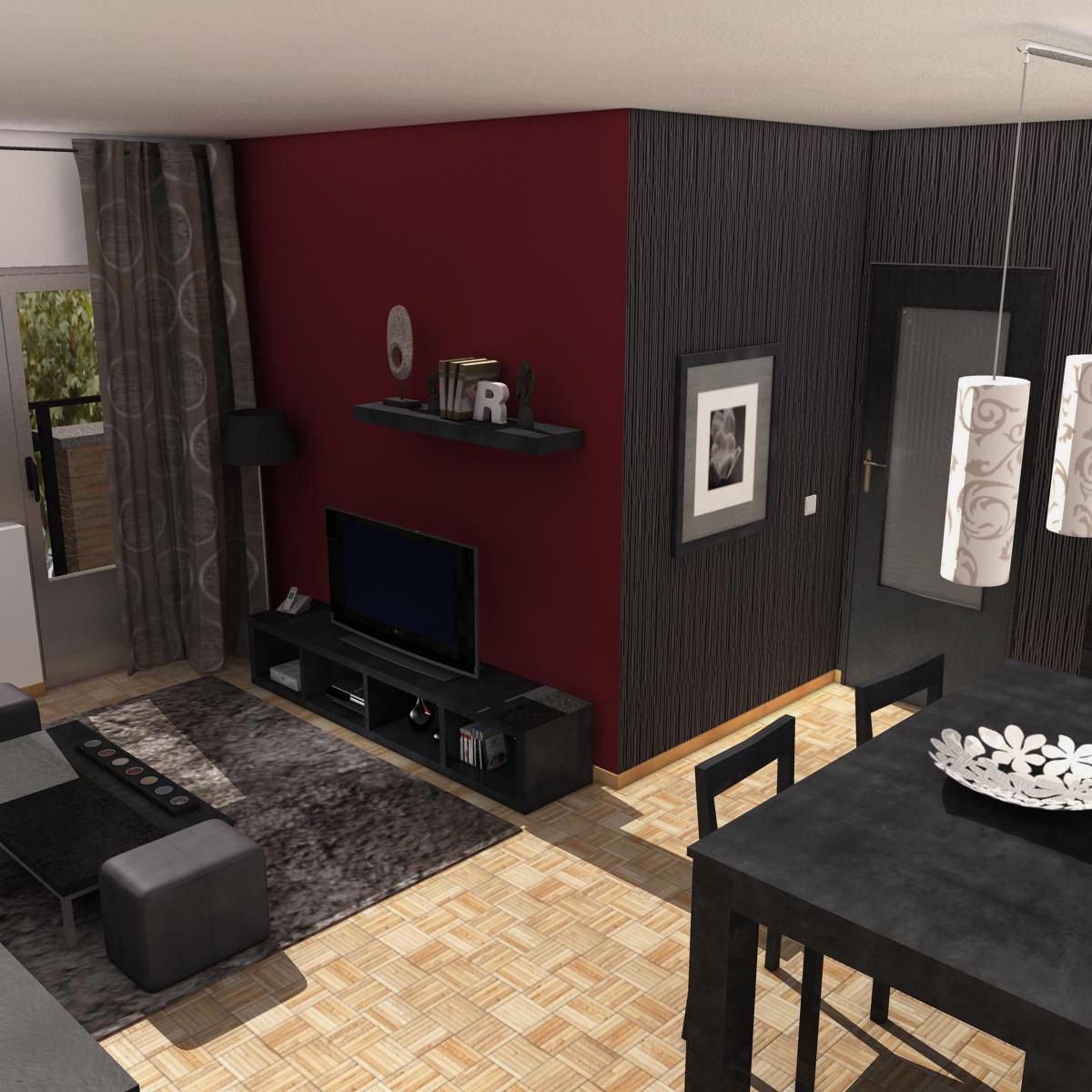 living room 3d model interior light 3ds max fbx c4d ma mb