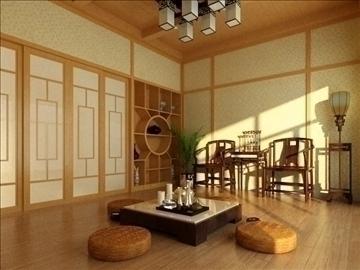 Living room 101 3d model buy living room 101 3d model for Living room 101