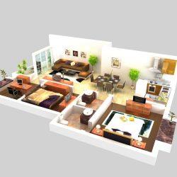 Living Room Models living room 056 3d model interior room max ar vr