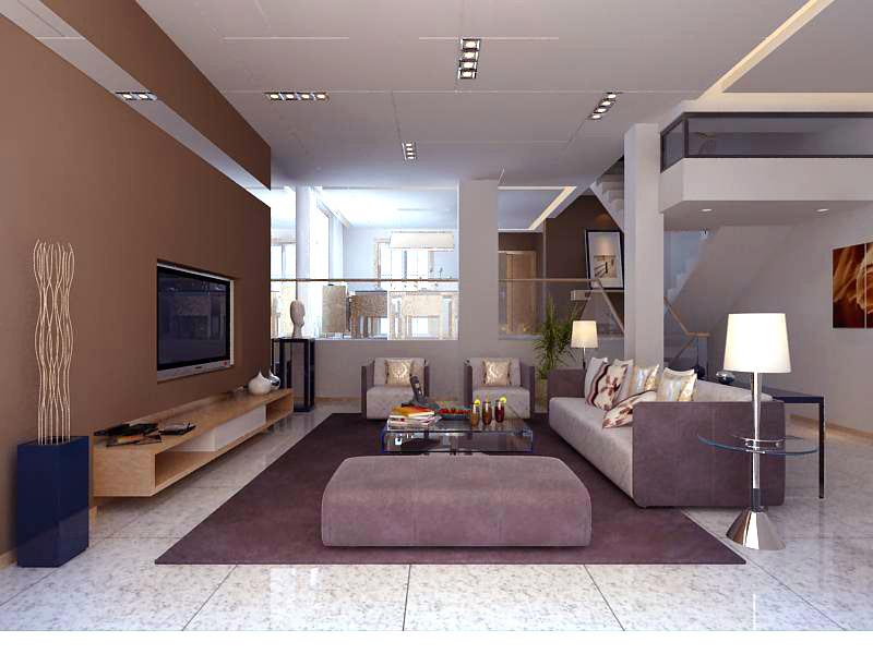Living room 1107 3d model buy living room 1107 3d model for Living models