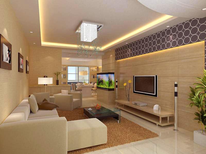 living room 1108 3d model flatpyramid. Black Bedroom Furniture Sets. Home Design Ideas