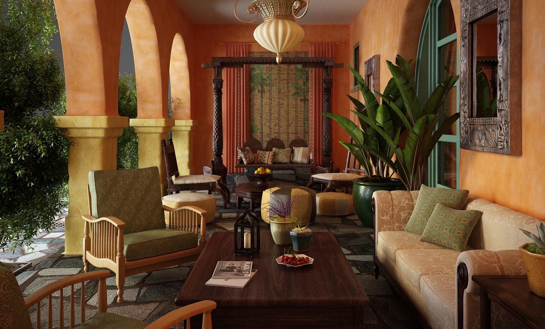 livingroom 035 3d model max 125838
