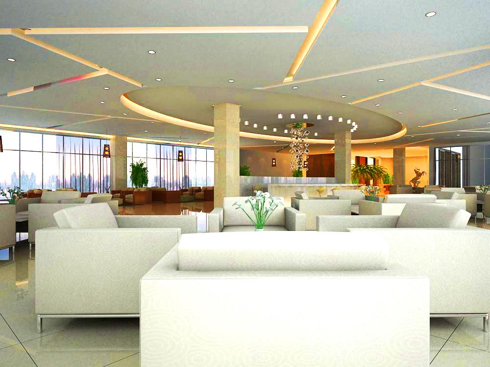 lobby 001 3d model max 124853