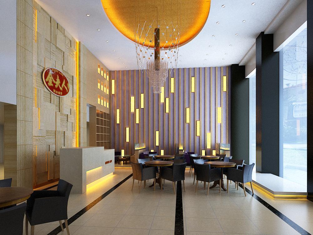 lobby 012 3d model max 141031