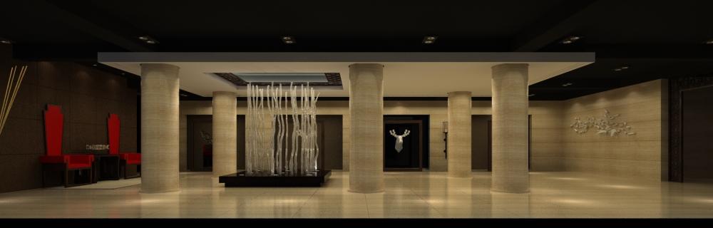 lobby 015 3d model max 136755