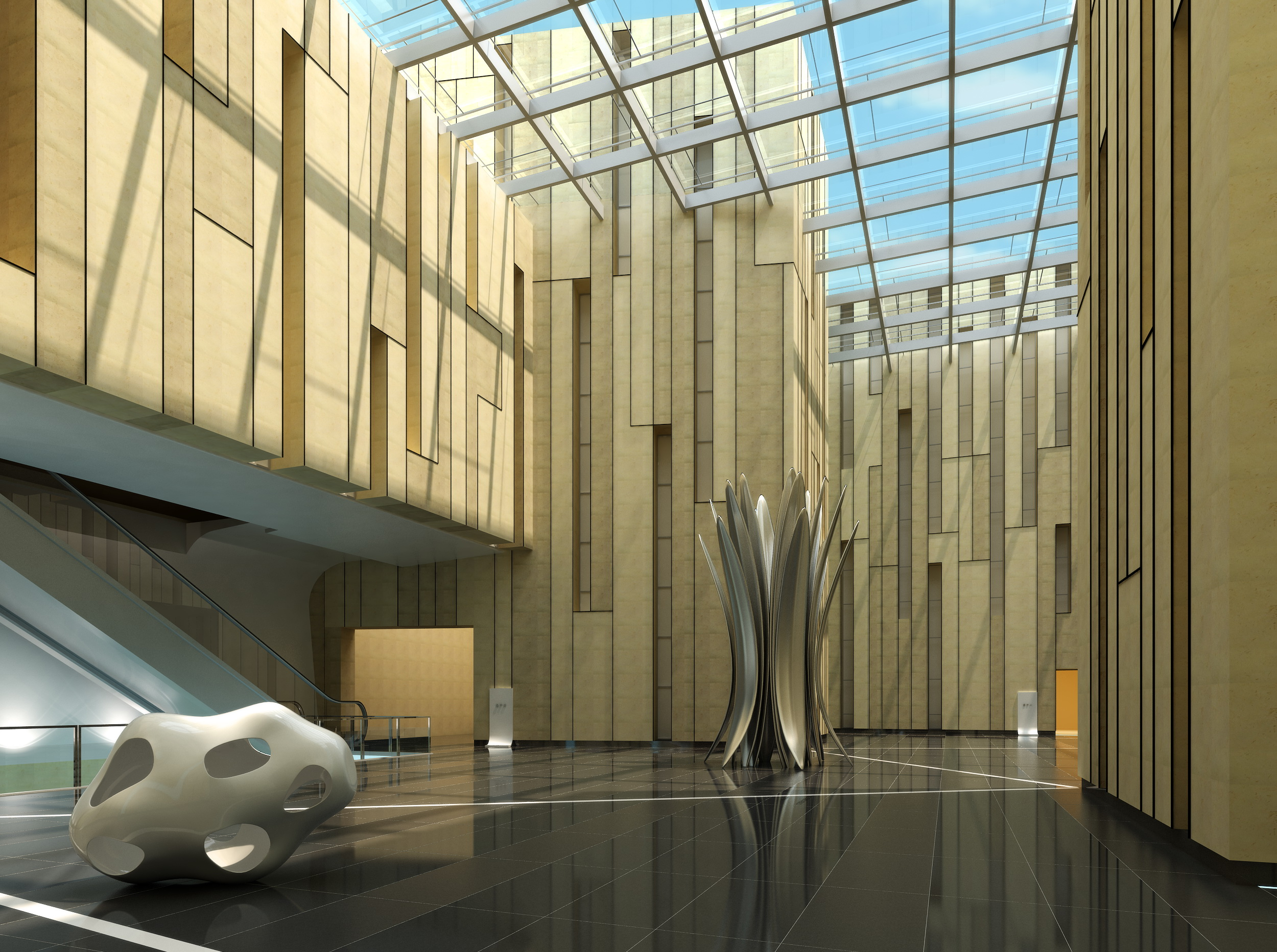 lobby 017 3d model max 136759