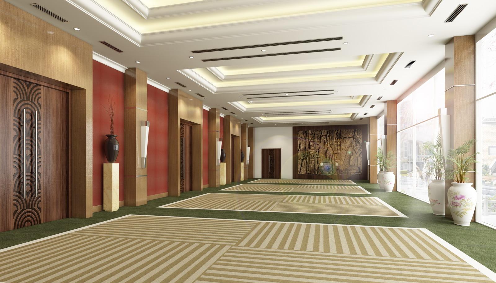 lobby 020 3d model max 141088