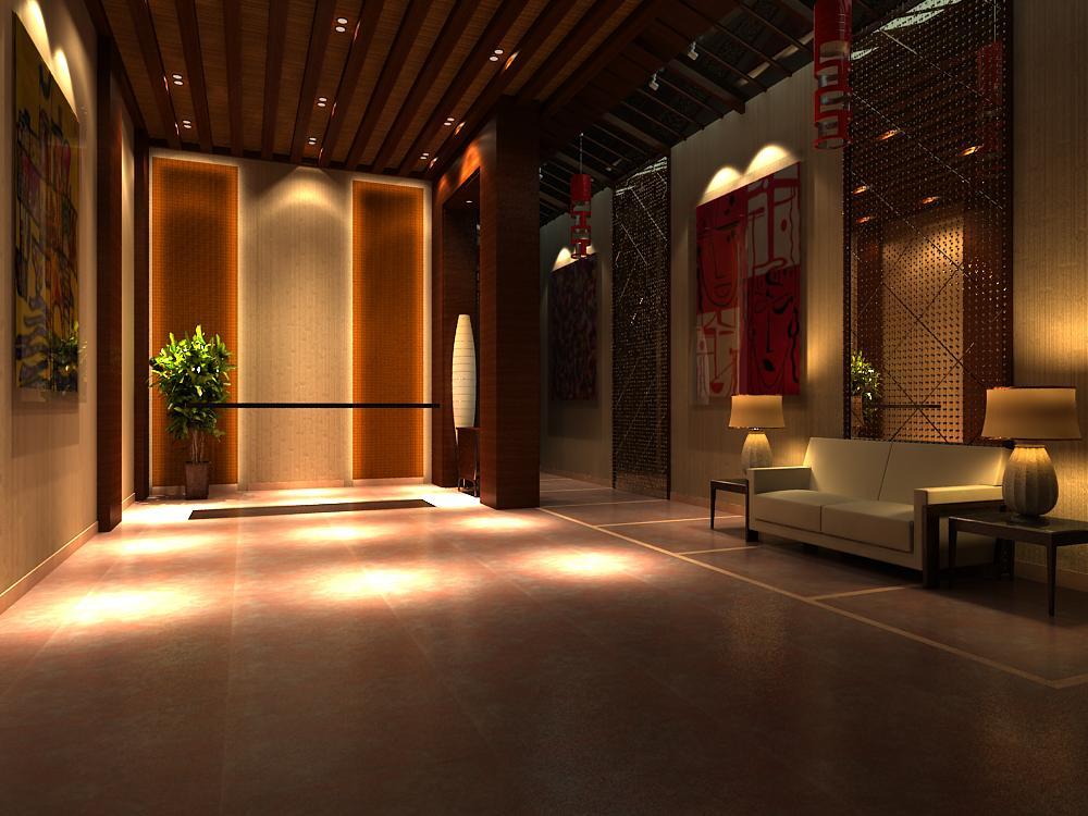lobby 024 3d model max 141124