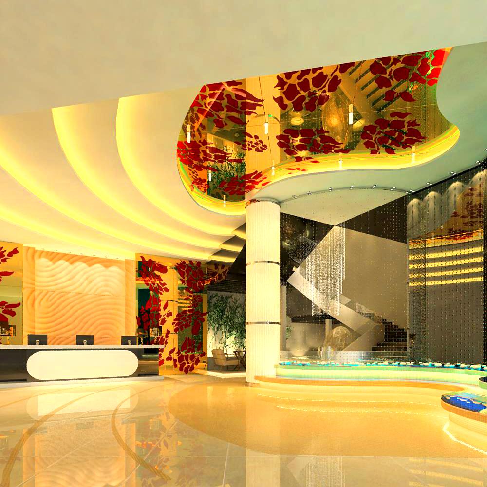 lobby 025 3d model max 141126