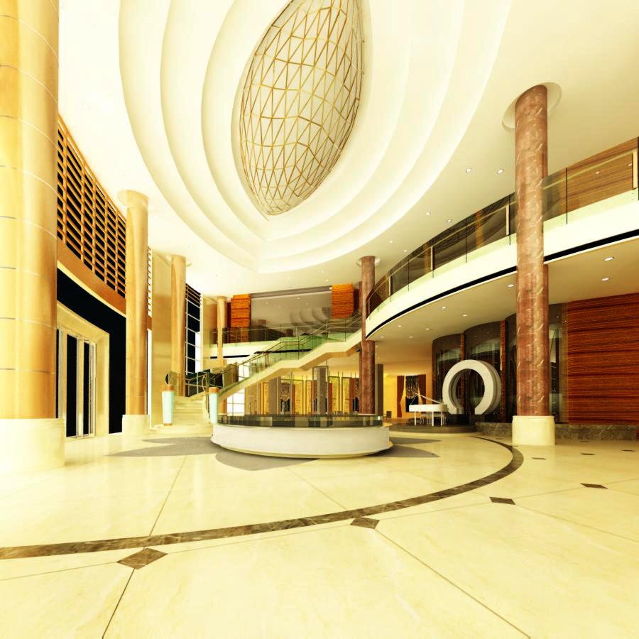 lobby 029 3d model max 136785