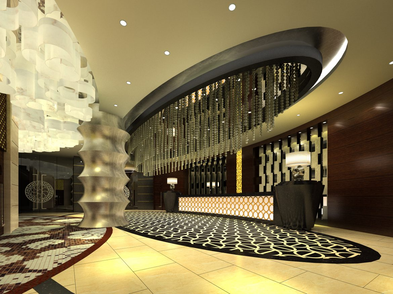 lobby 032 3d model max 136791