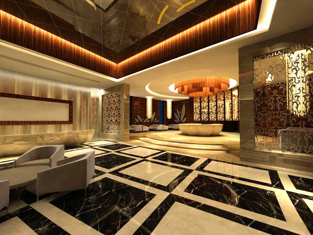 lobby 041 3d model max 142446
