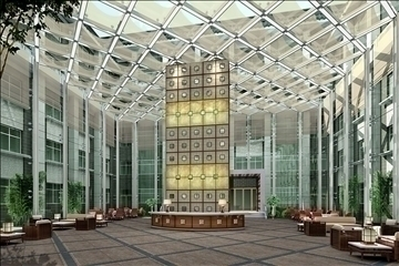 lobby 047 3d model 3ds max 90151