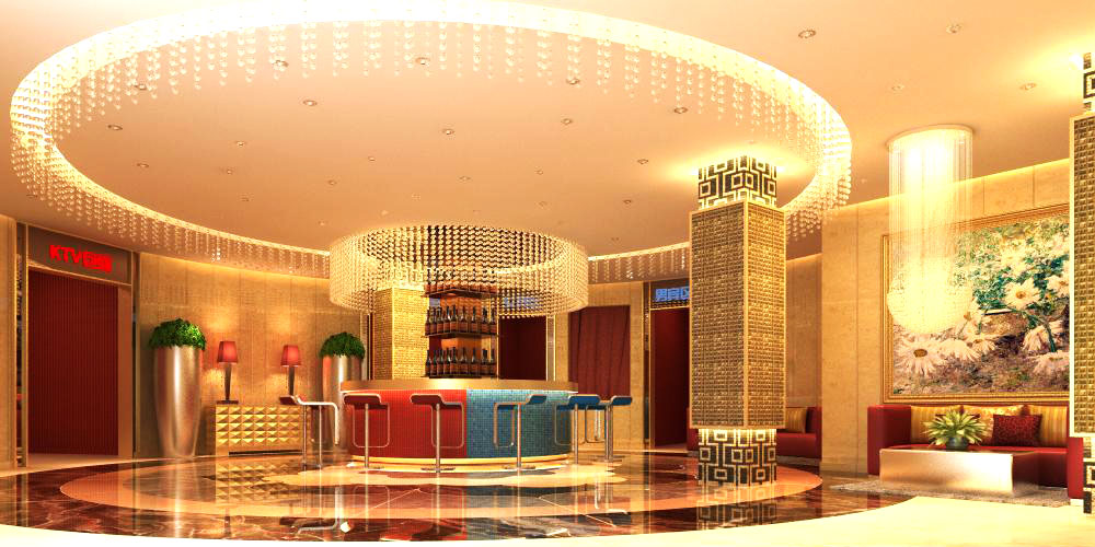 lobby 065-2 two 3d model max 136854