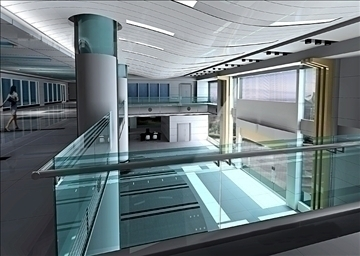 lobby 068 3d model 3ds max 90198