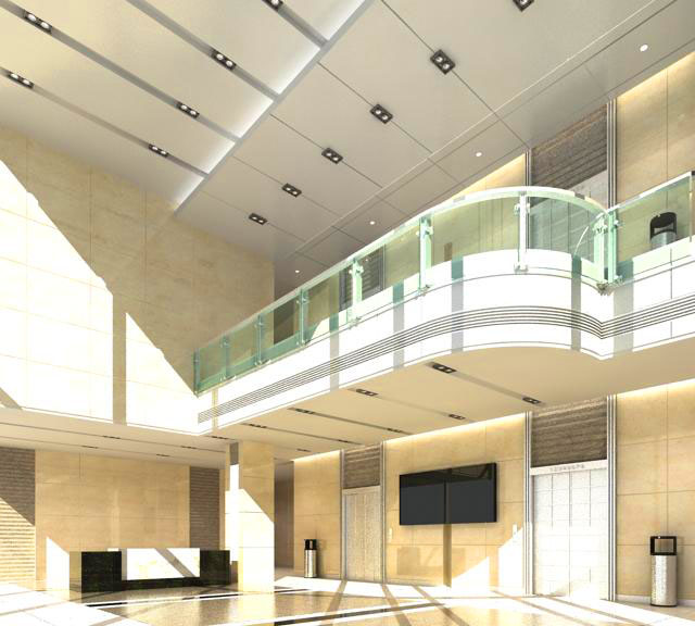 lobby 071 two 3d model max 136864