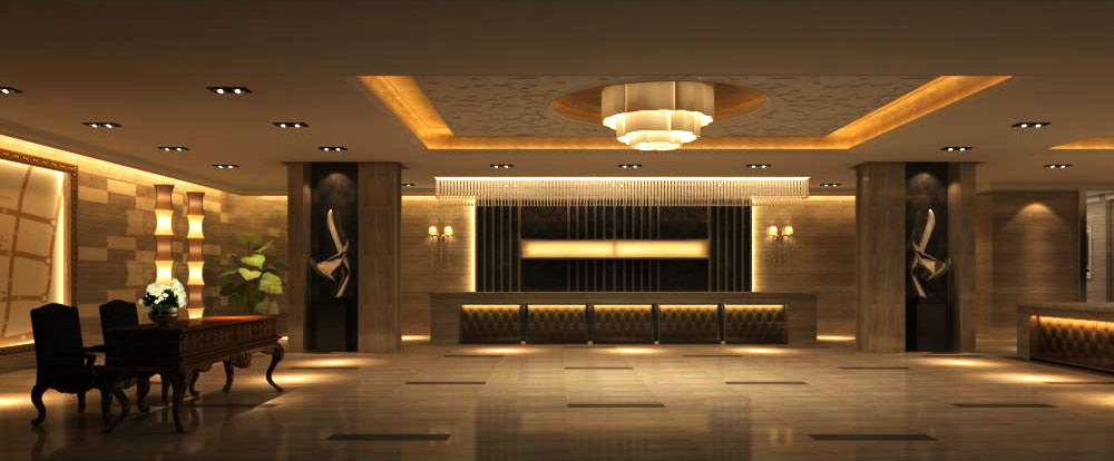 lobby 074 two 3d model max 136870