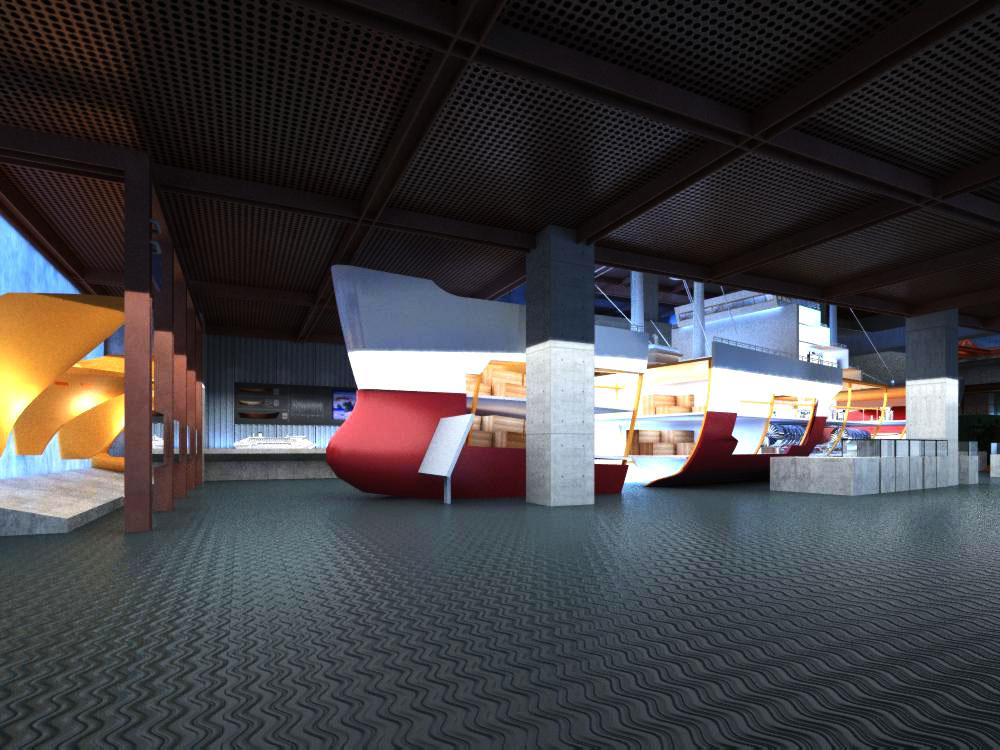 lobby 091 3d model max 136902