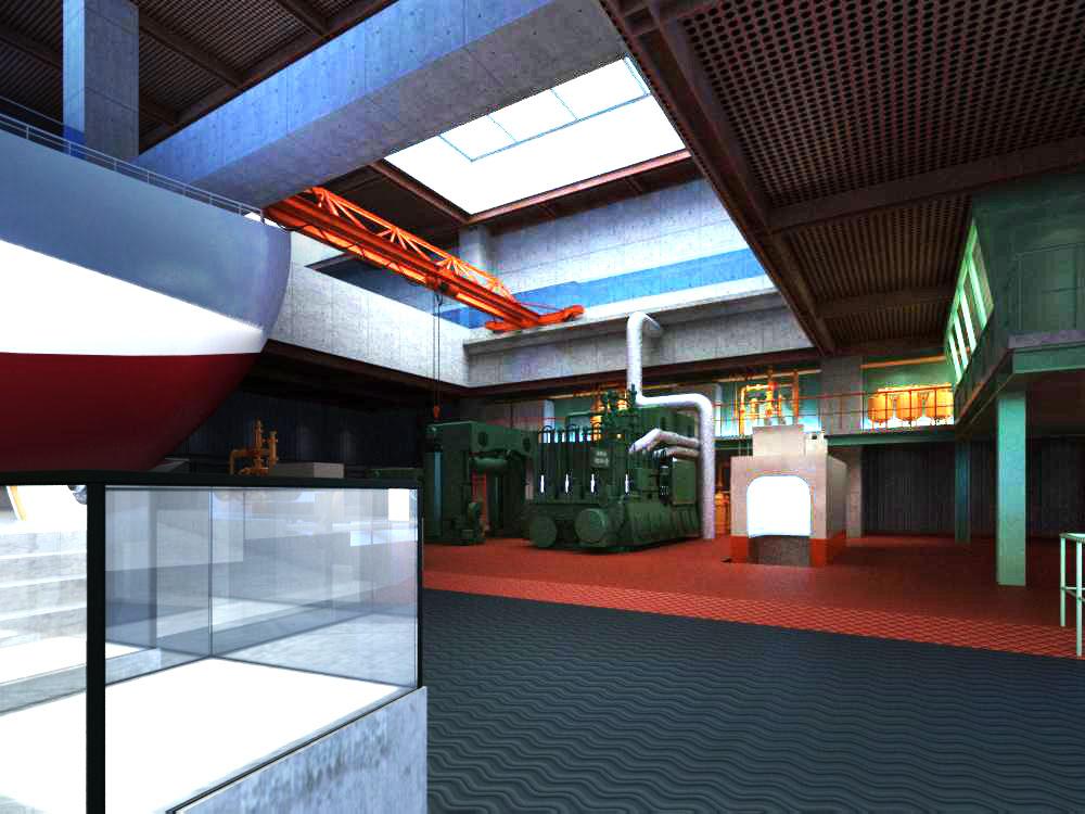 lobby 091 3d model max 136904
