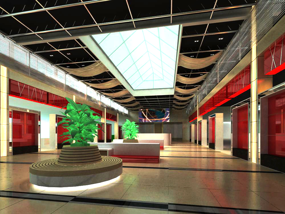 lobby 102 two 3d model max 143611